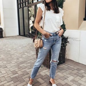 Free People / We The Free | So Easy Tee In Ivory